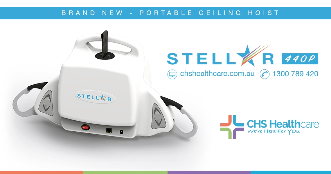 CHS Newest Stellar 440P - Portable Ceiling Hoist